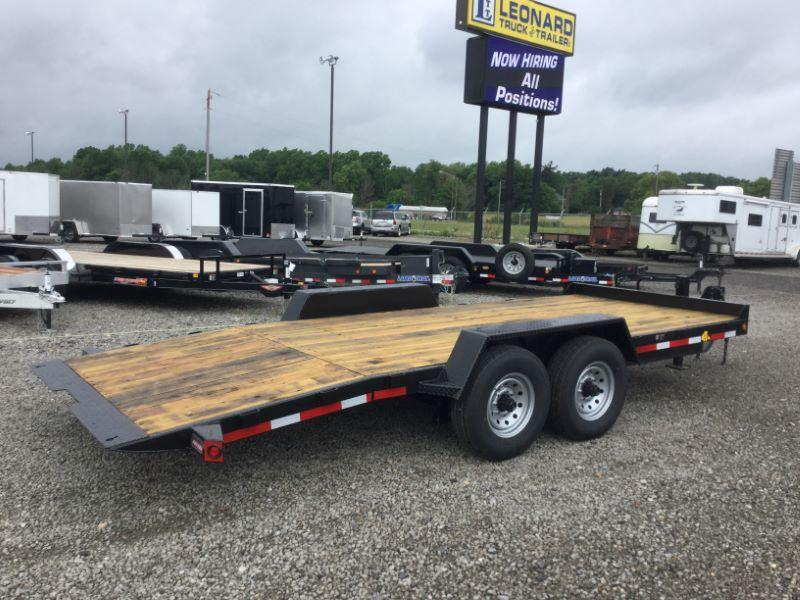 2018 Winston BT20719ES Equipment Trailer