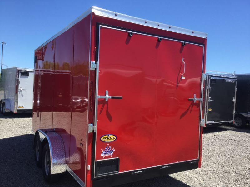 2018 US Cargo ULAFTX7X14TA2-1 Enclosed Cargo Trailer