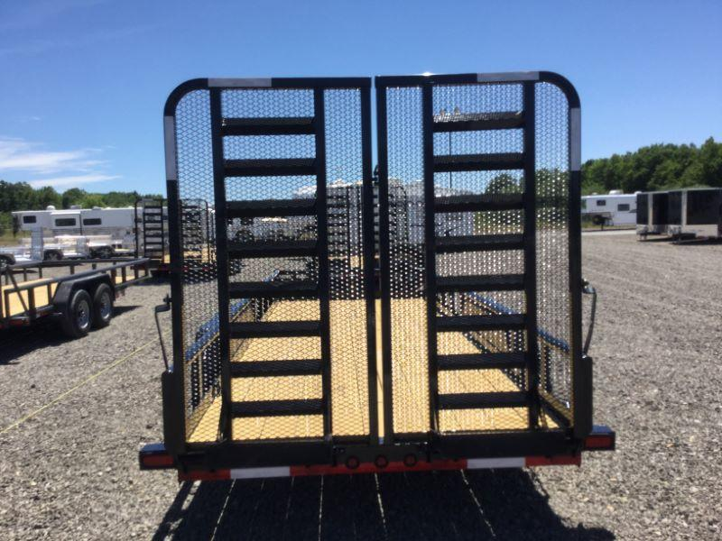2016 Load Trail CP83X20TAEQT Equipment Trailer