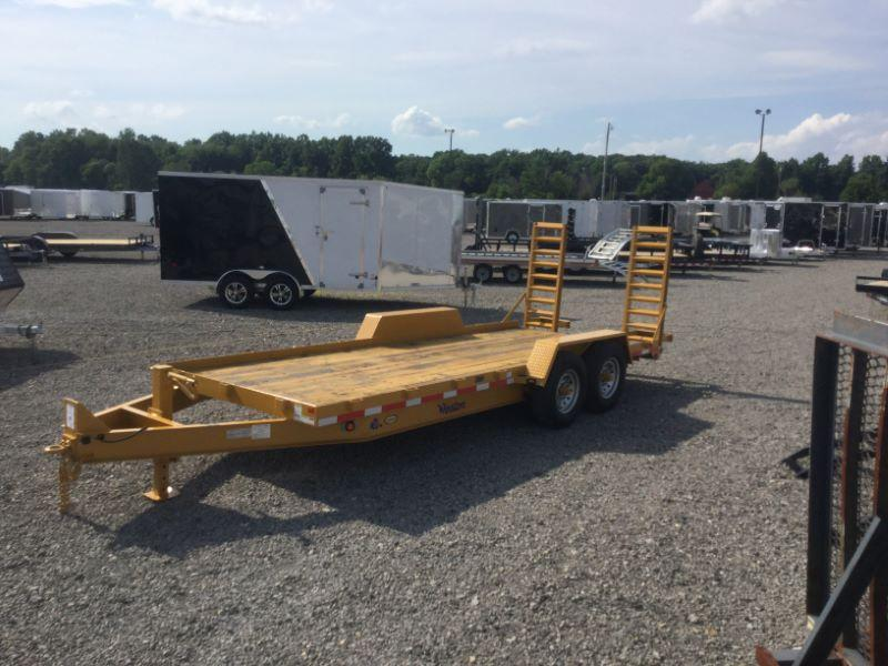 2017 Winston BP20718ES Equipment Trailer
