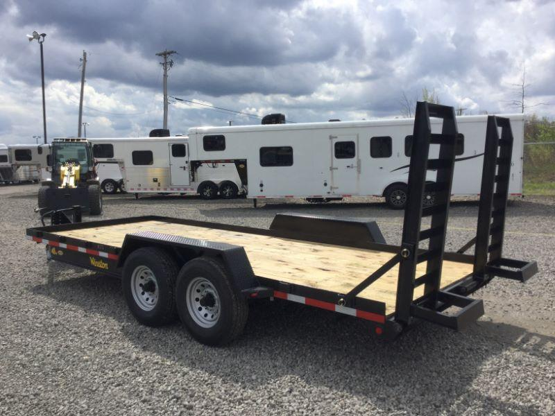 2016 Winston BP20718ES Equipment Trailer