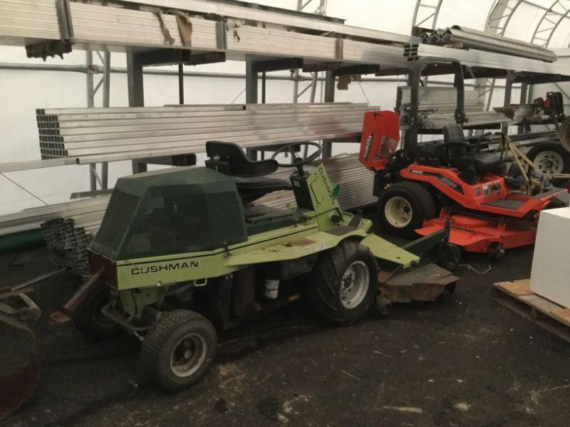 2010 Cushman 898807 Truck Beds and Equipment