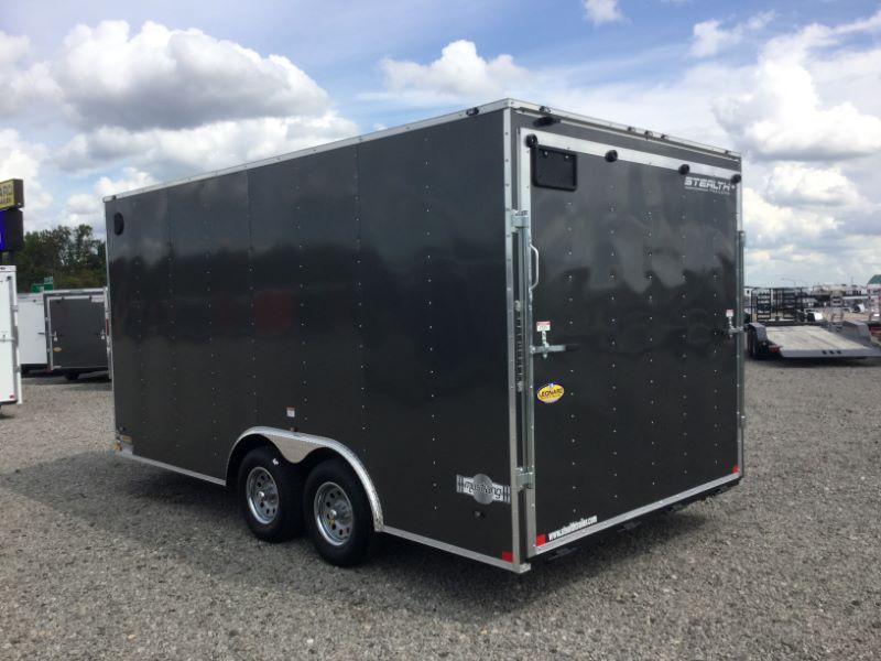2018 Stealth Trailers STET8.516TA2 Car / Racing Trailer