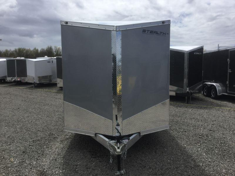 2018 Stealth Trailers SABH714TA Motorcycle Trailer