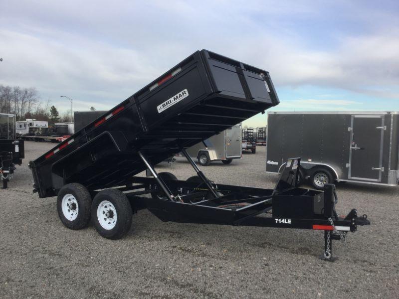 2017 Bri-Mar DT714LP-LE-14-A Dump Trailers