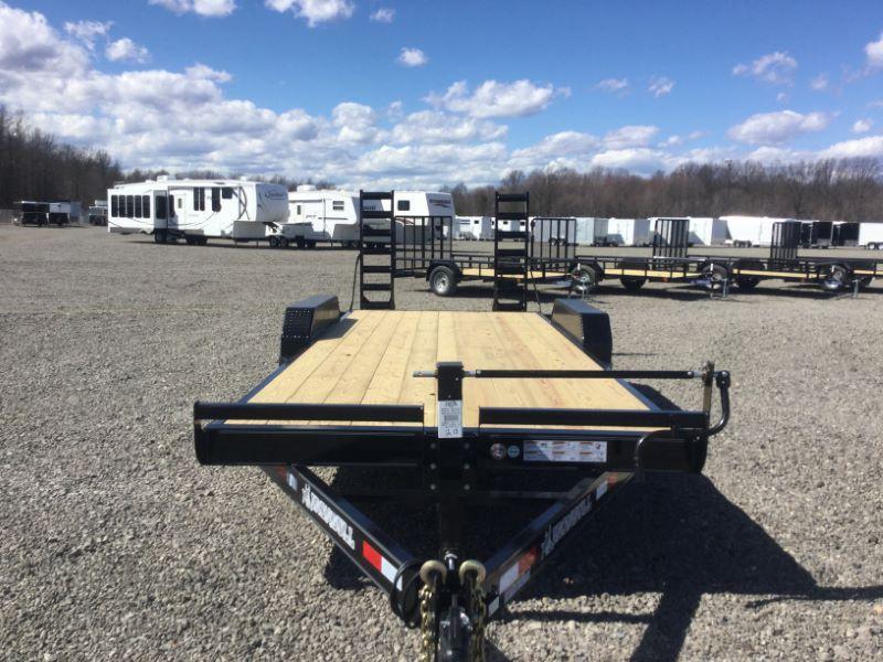 2017 Norstar 1BEQ8318TA5 Equipment Trailer