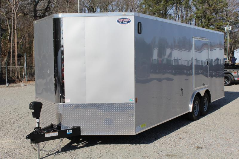 2018 Continental Cargo 8.5X22 10K Car / Race Trailer