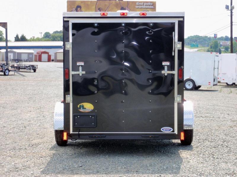 2018 Continental Cargo 6X12 w/ Ramp Door