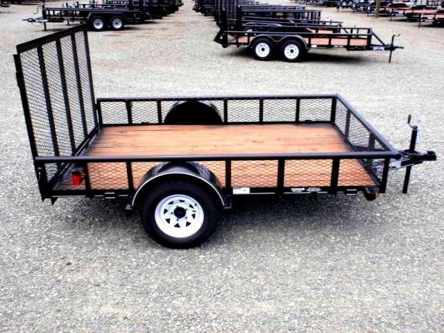 2016 Texas Bragg 6x10P w/ Gate & Expanded Sides