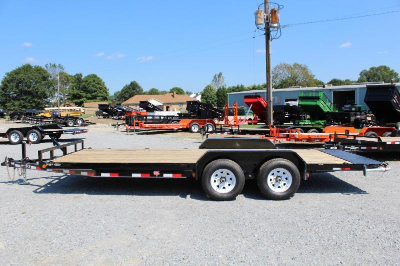 2018 PJ Trailers 20ft CE 10K Equipment Trailer w/Slide in Ramps