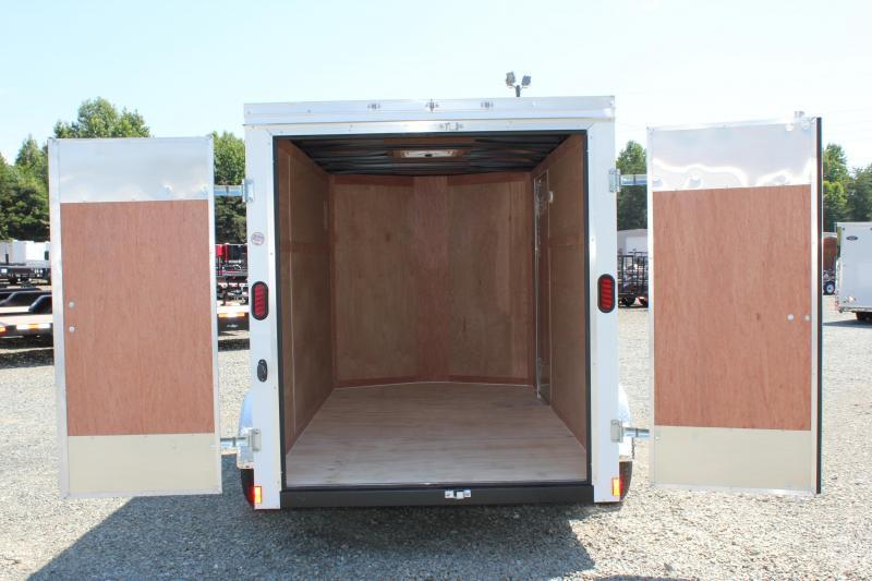 2018 Continental Cargo 6X12 w/ Double Doors