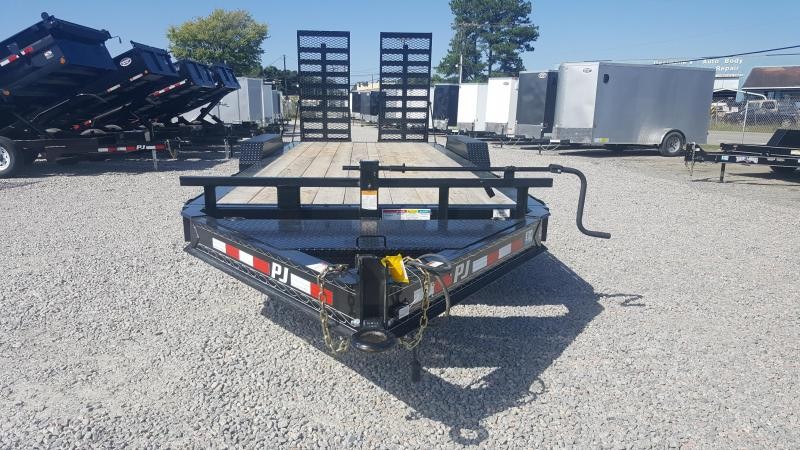 2018 PJ 20 H4 20ft 16K w/ HD Fold Up Ramps