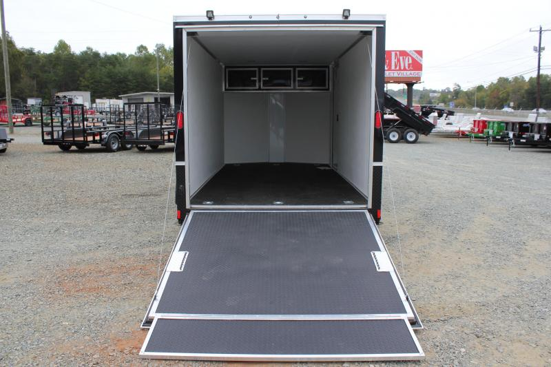 2018 Continental Cargo 7X14 LOADED Motorcycle Trailer