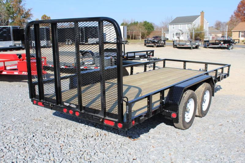 2018 PJ Trailers 16ft UK 7K Utility Trailer