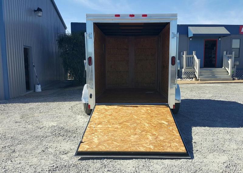 2018 Continental Cargo 6X10 Special w/ Ramp Door