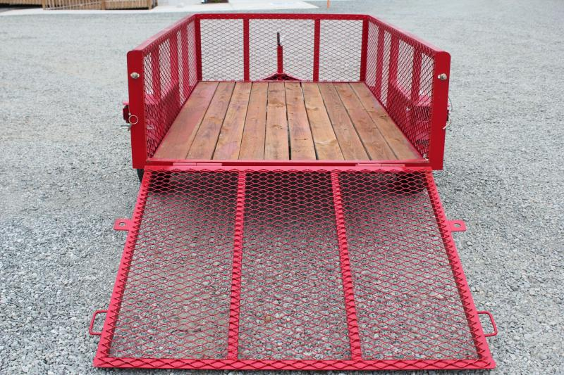 2017 Texas Bragg 5X8LB w/ 2ft Expanded Sides & Gate