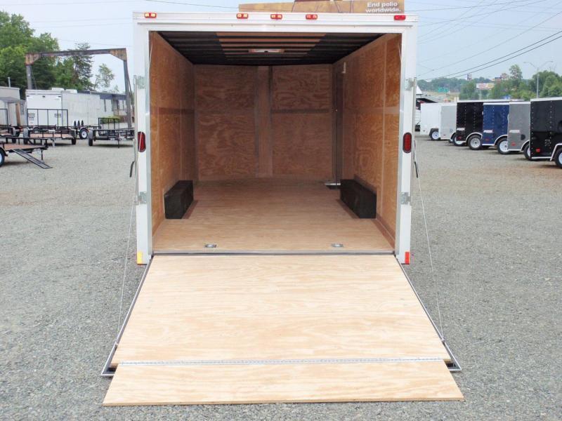 2018 Continental Cargo 8.5X20 7K w/ Ramp Door