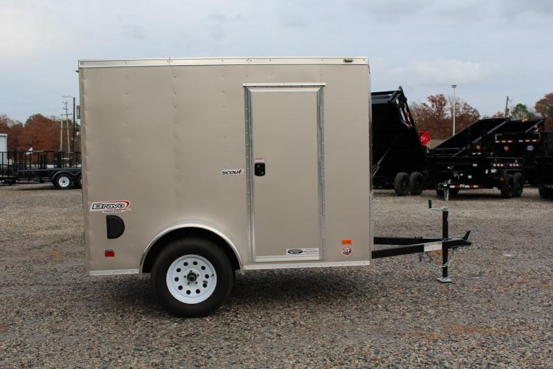 2017 Bravo Scout 5x8 w/ Double Rear Doors