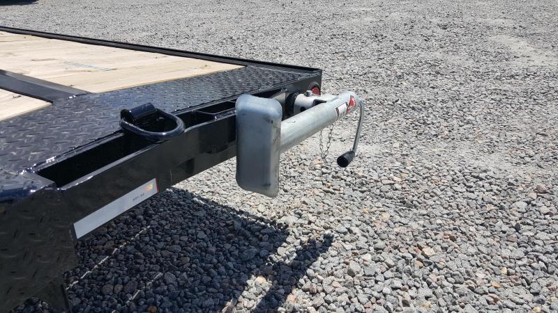 2018 PJ Trailers 18ft B5 10K w/2ft Dovetail & Slide in Ramps