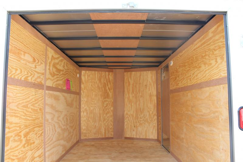 2018 Continental Cargo 7X12 w/ Double Rear Door