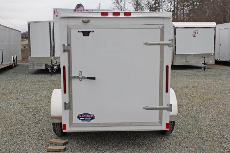 2017 Bravo Hero 5x8 w/ Single Swing Door