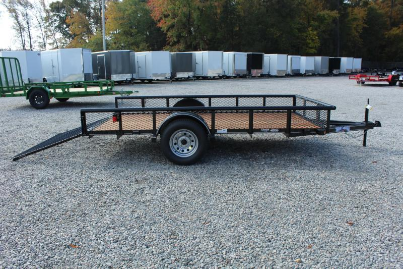 2017 Texas Bragg Trailers 6X12P Expanded Sides Utility Trailer