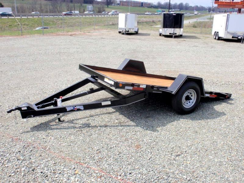 2017 Texas Bragg Trailers 6X12HET 7K Tilt Equipment Trailer
