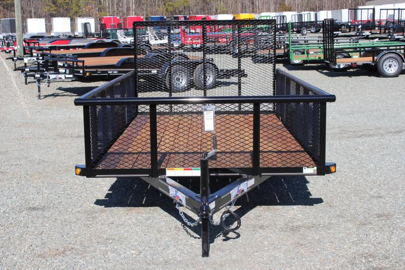 2018 Texas Bragg 6x12P w/ 2ft Expanded Sides & Gate