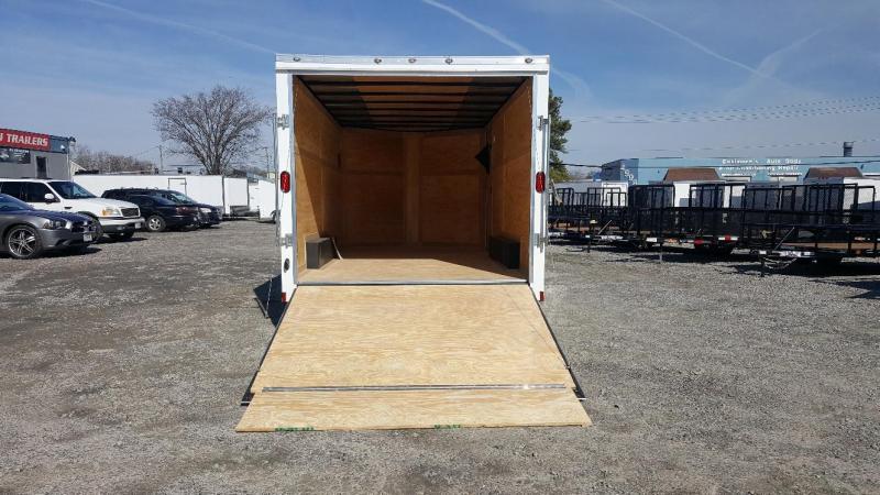 2018 Continental Cargo 8X16 w/Ramp Door