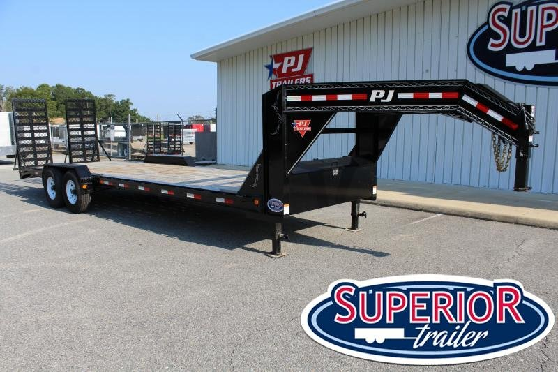 2018 PJ H4 26ft 16K w/ HD Fold Up Ramps
