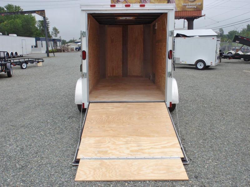 2018 Continental Cargo 6X12 7K w/ Ramp Door