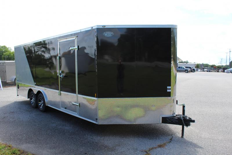 2018 Continental Cargo 8X20 Motorcycle Trailer w/Ramp