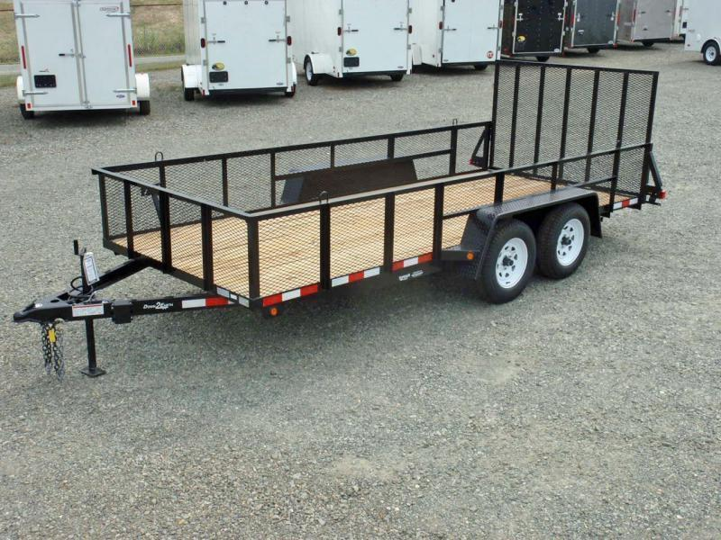 2017 Down 2 Earth 16ft 2ft Expanded Sides & Tailgate