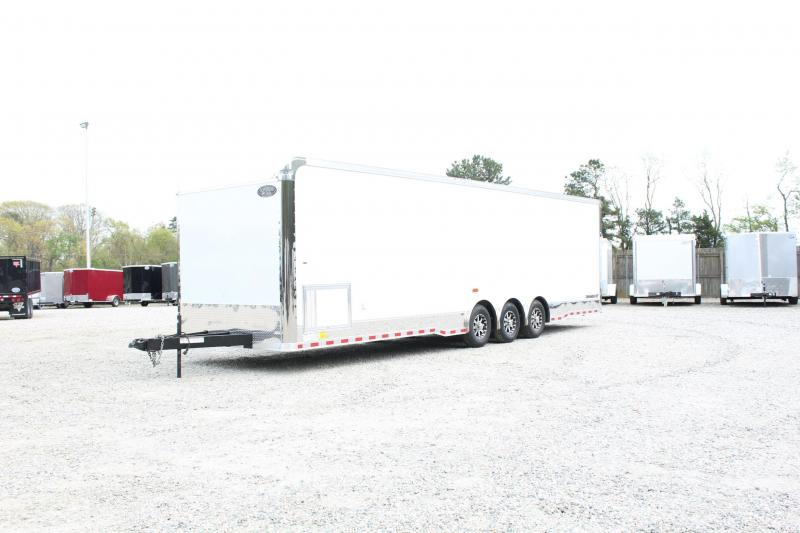 2018 Continental Cargo 8.5X32 18K Car / Racing Trailer