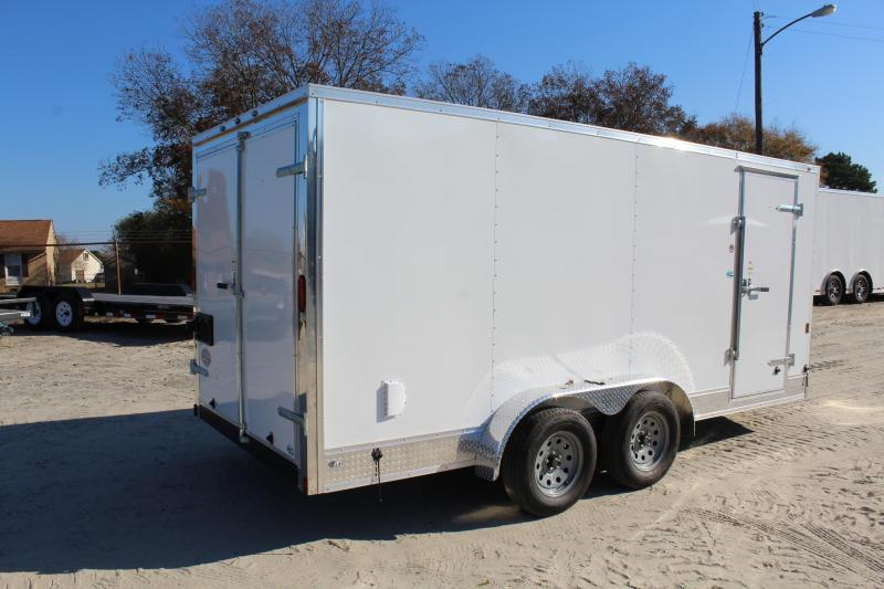 2018 Continental Cargo 7X16 w/ Double Rear Doors