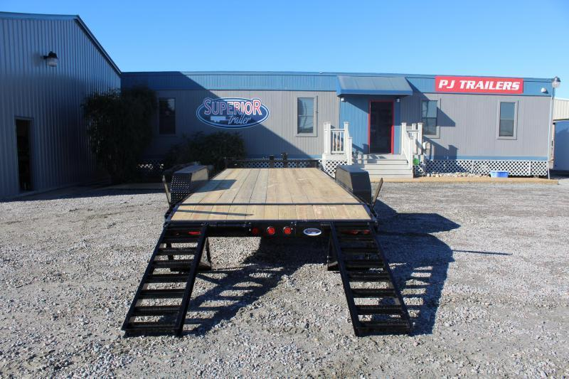 2018 PJ Trailers 20ft CC 14K Equipment Trailer w/Fold Up Ramps