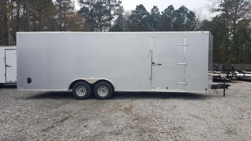 2018 Continental Cargo 8.5X24 10K Enclosed Car Trailer w/ Ramp