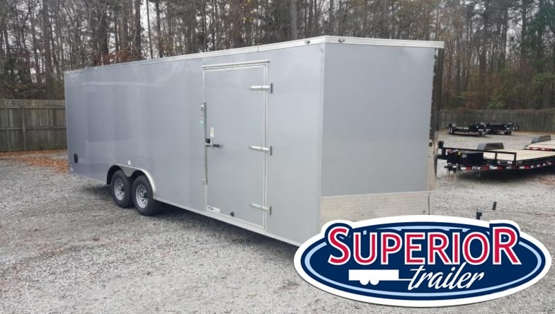 2018 Continental Cargo 8.5X24 10K Enclosed Car Trailer w/ Ramp