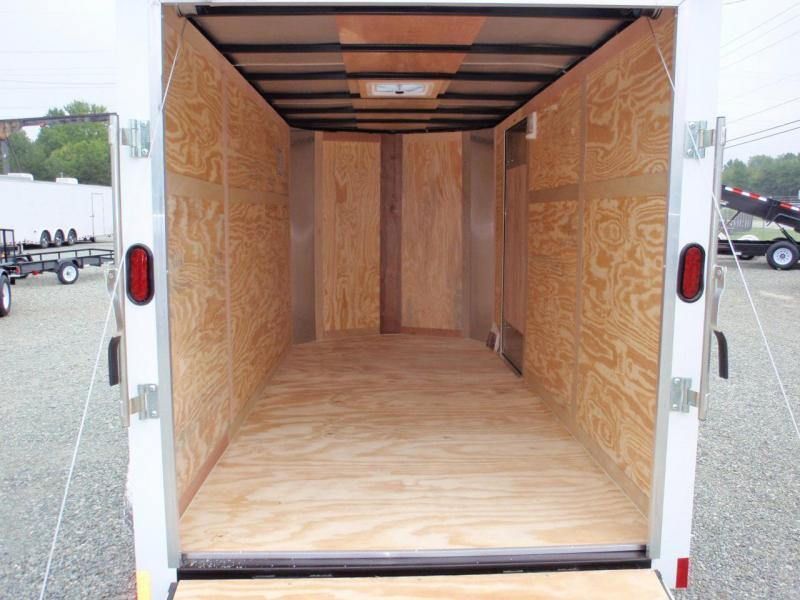 2018 Continental Cargo 6X12 7K w/Ramp Door