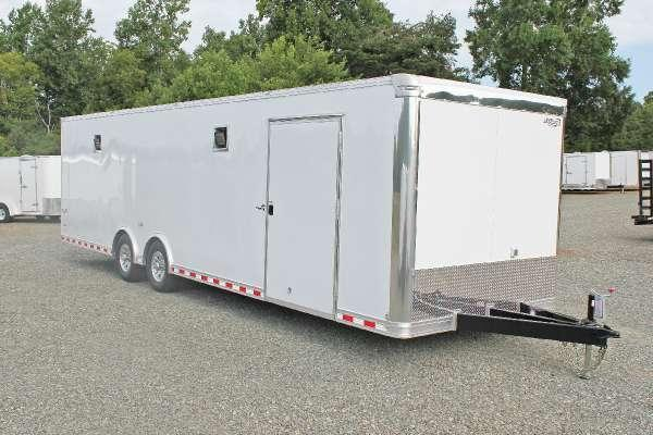 2015 Bravo Star STP 8.5x30 12K LOADED Race Trailer
