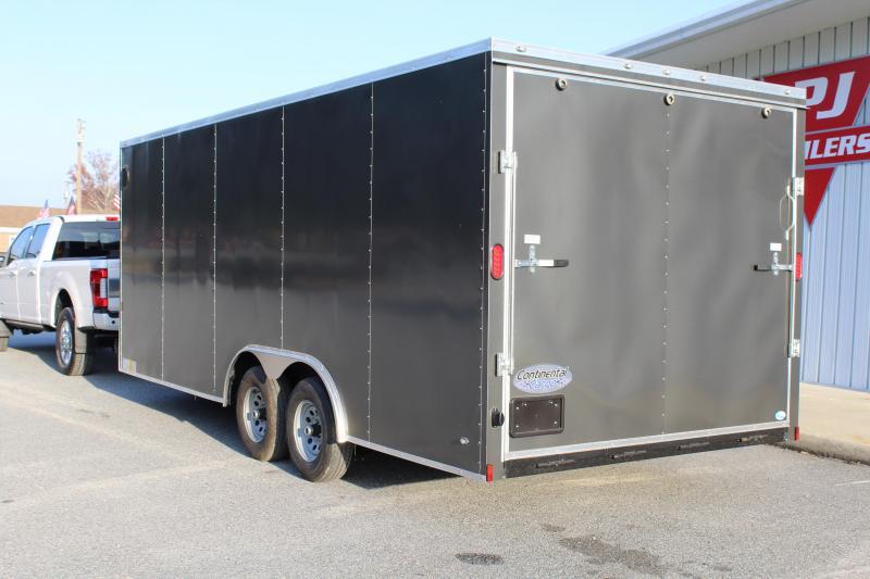 2018 Continental Cargo 8.5X20 10K w/ Ramp Door