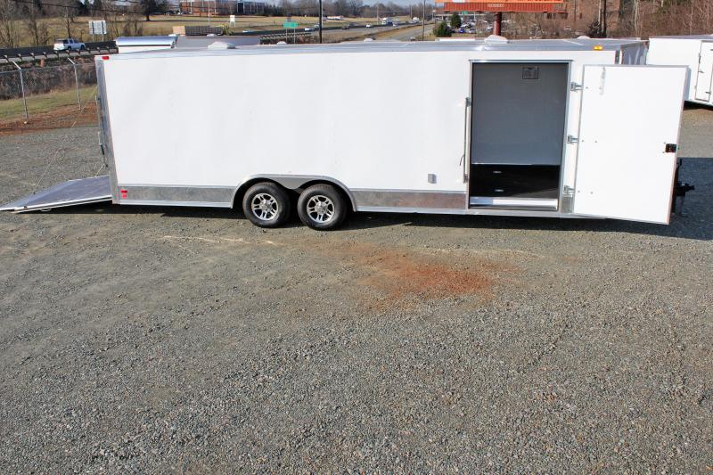 2018 Continental Cargo 8.5X24 10K  LOADED Car Trailer