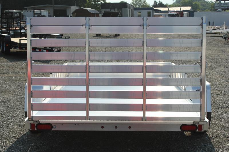 2018 Aluma 8112 w/ Side Ramps & Tailgate