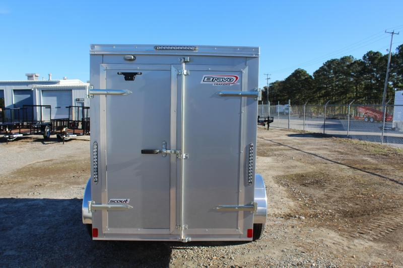 2017 Bravo Trailers Scout 5X8 w/Double Rear Doors