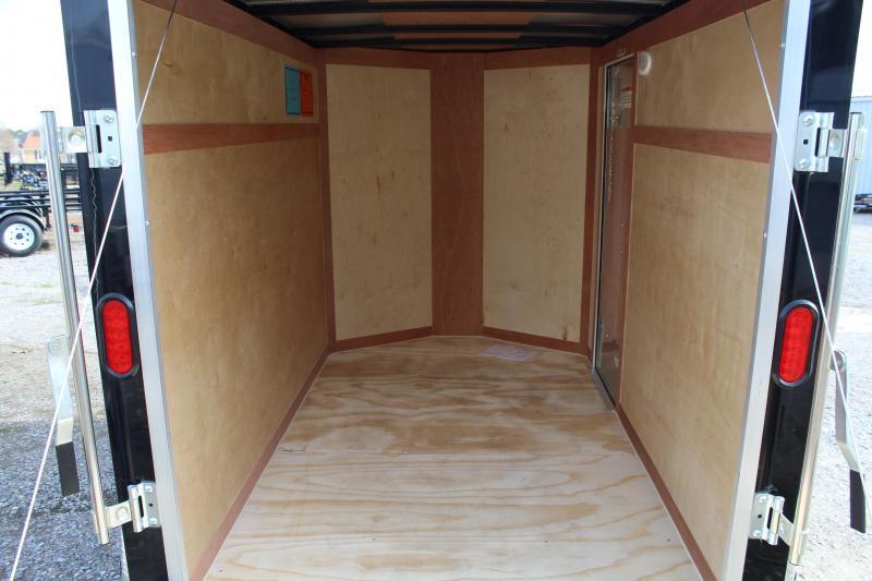2018 Continental Cargo 5X8 w/Rear Ramp