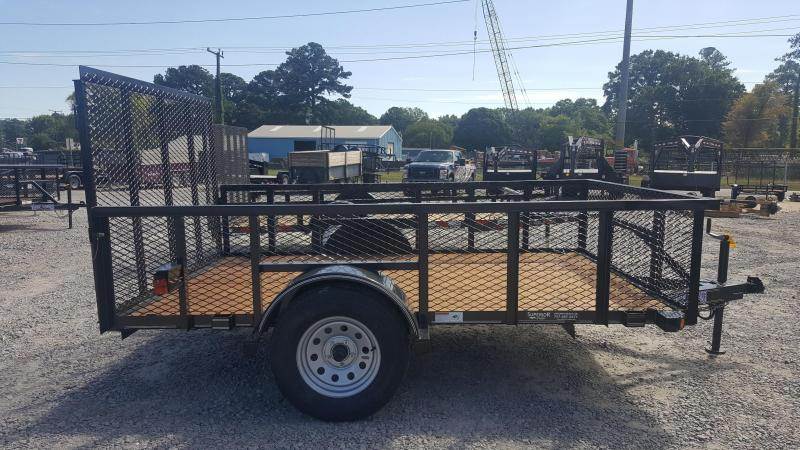 2017 Texas Bragg Trailers 6X10ST 2ft Expanded Sides Utility Trailer
