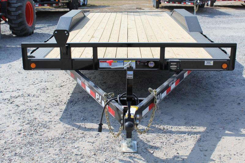 2017 PJ Trailers 18ft B5 10K w/Slide in Ramps