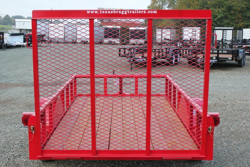 2017 Texas Bragg 5X10P w/ Gate