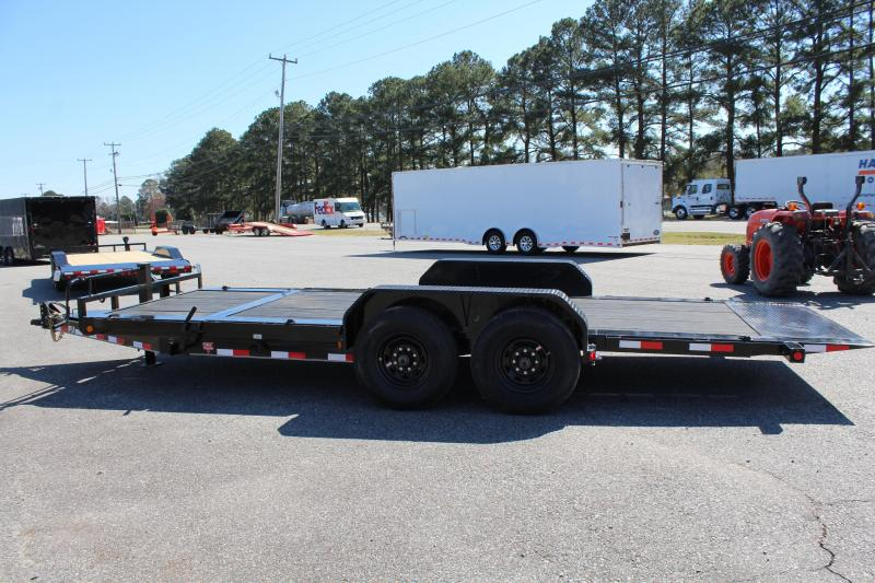 2017 PJ Trailers 20ft TJ 16K Tilt Equipment Trailer