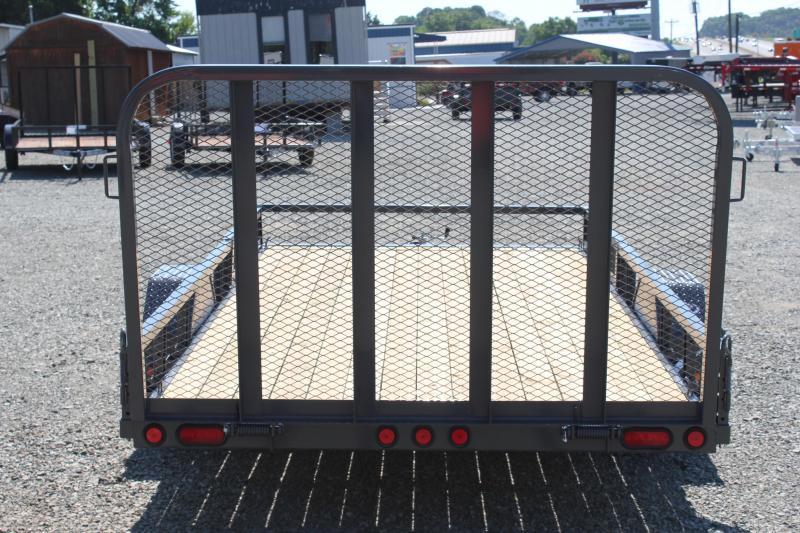 2018 PJ 7x14 U8 w/ Side Ramps & Gate
